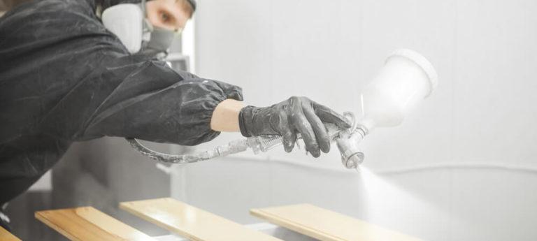 peinture avec compresseur d'air